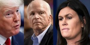 Trump, McCain and Sanders